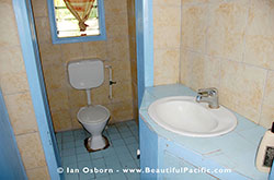 bathroom in the drom room