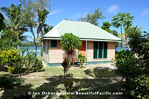 bure accommodation at long beach resort fiji