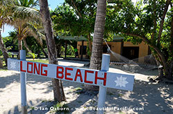 Entrance to Long Beach Resort Fiji