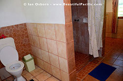Bathroom in the Standard Cottage
